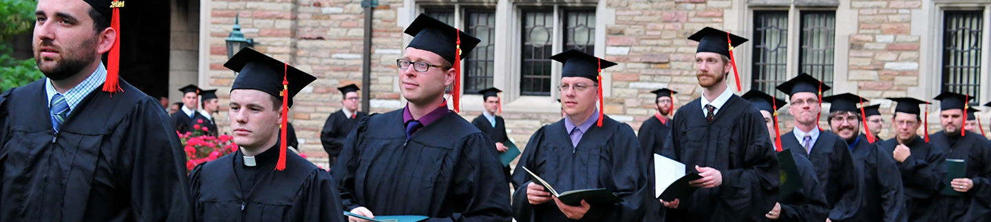 Commencement at Concordia Seminary, St. Louis
